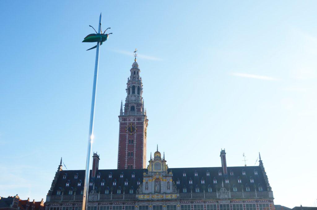 Leuveninsideout - Ladeuzenplein met universiteits bibliotheek