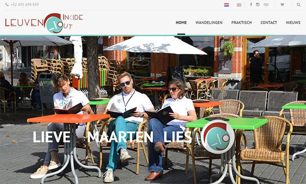 LeuvenInsideOut - stadswandelingen door Leuven met Lieve, Maarten en Lies