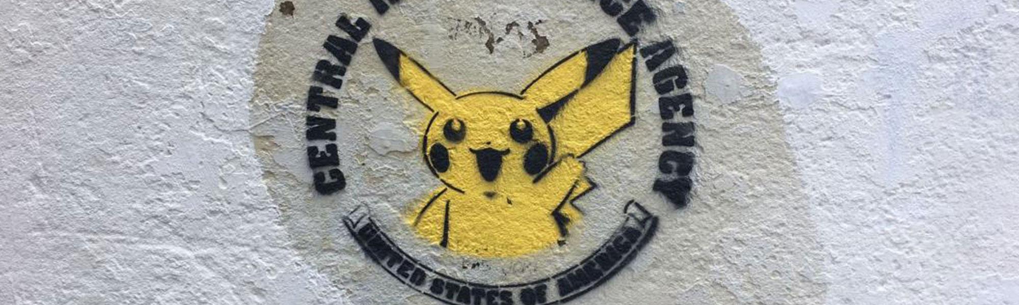 Pikachu nog aan toe